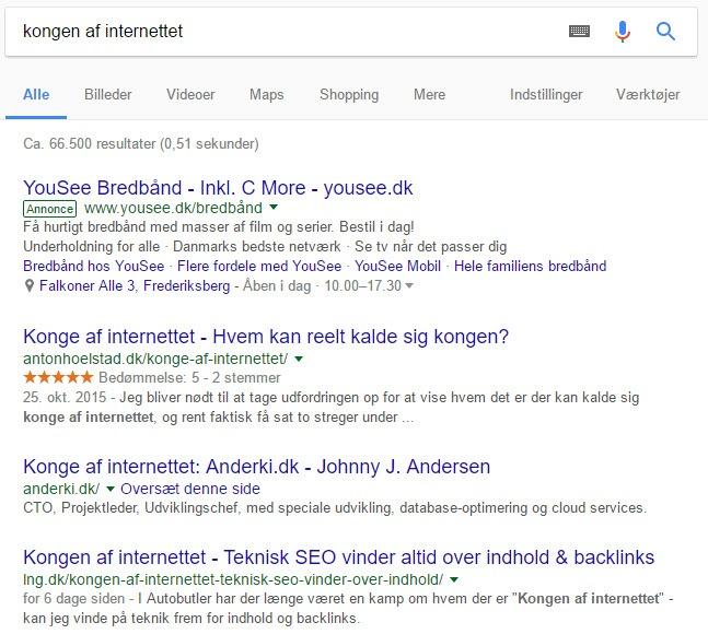Kongen af internettet - Lars Nørgaard Graversen